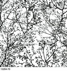 graphics alive tree black white wallpaper 13264 70 ebay. Black Bedroom Furniture Sets. Home Design Ideas
