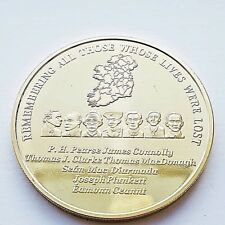 1916 Commemorative Gold Coin - Irish Republican 1916 Easter Rising Centenary