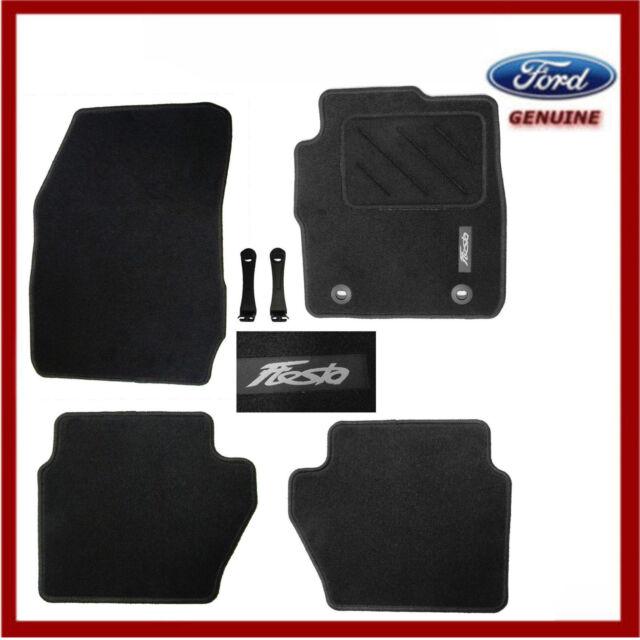 Ford Fiesta Rear Rubber Mat Set for 2008 Onwards