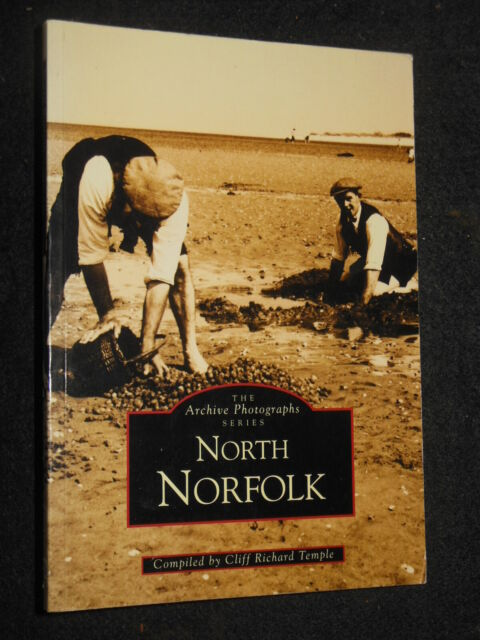 North Norfolk by Cliff Richard Temple (1995-1st) Cromer, Sheringham, Salthouse +