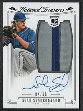 2015 National Treasures #209 Noah Syndergaard Mets RC RPA Patch On Card Auto /10