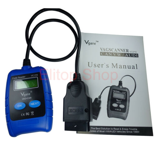 VAG VW Audi Diagnostic Tool Auto Scanner Code Reader for Engine ABS Airbag A//T