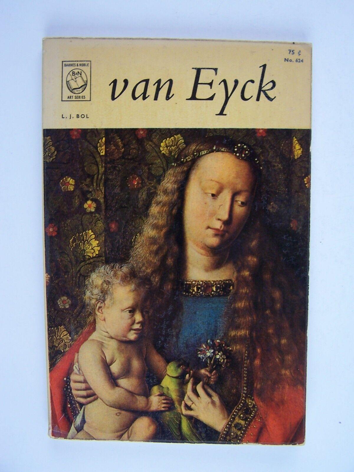 Jan Van Eyck (Barnes & Noble Art Series No 624) Paperba