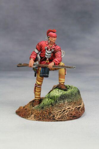 SEIL Model 54mm miniature toy soldier Metal Figure,Woodland Indian