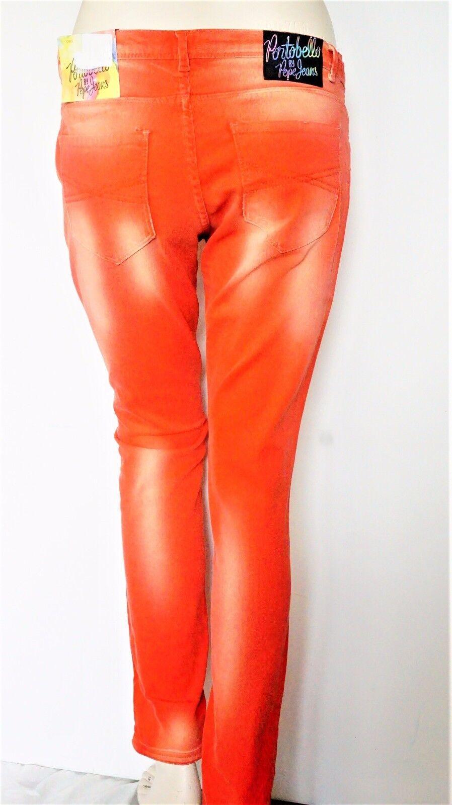 Pepe Sadie Damen Jeanshose, Rot Rot Rot Gewaschen aus Baumwollemischung Große; W30,L32 | Outlet Online Store  09fed5