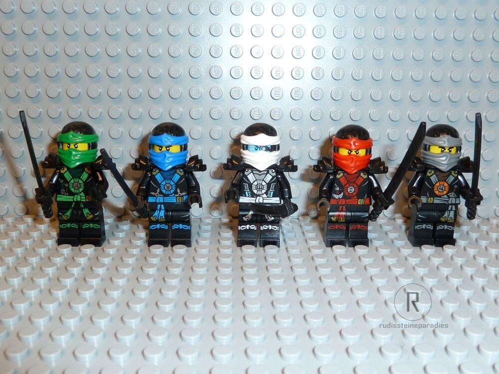 LEGO ® Ninjago - 5 Ninjas 70751 ZX Lloyd Cole Kai Zane Jay 70734 70738 Nouveau n06