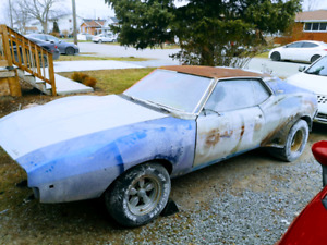 AMC AMX JAVELIN 360 V8 4 SPEED PROJECT OR PARTS TRADES?