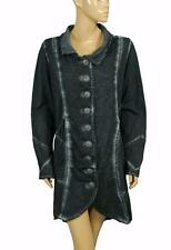 132568 New Joe Browns Tie & Dye Printed Cotton Coat Jacket Tunic Dress Medium M