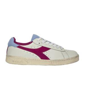 Diadora-Game-L-Low-Used-Wn-Sneaker-Donna-501-176026-C8546-Azzurro-Polvere-Rosa-M