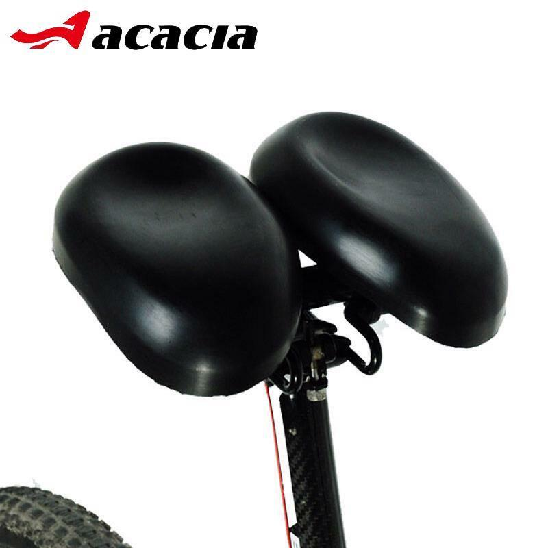 Double Adjustable Bike Saddles Padded Multi-function Dual Pad Bicycle Saddle New