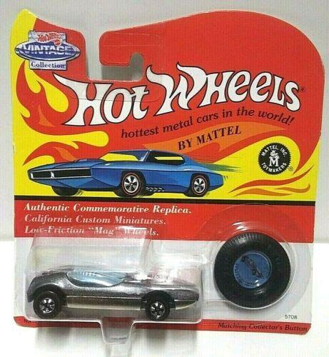 1993 Hot Wheels Vintage Collection Splittin Image Dark Silver