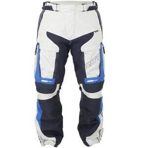 Nuevo-Rst-Adventure-3-III-Azul-Arena-Motocicleta-Moto-Textil-Pantalones