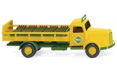 """#057002 - Bevande Wiking-camion Mb (l 3500) """"bluna"""" - 1:87-mostra Il Titolo Originale"""