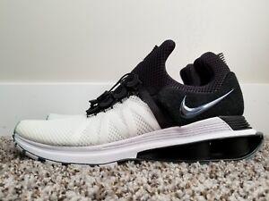 fd94eb8c4c1 Nike Shox Gravity Running Shoes Black White AR1999-101 Men s Size ...