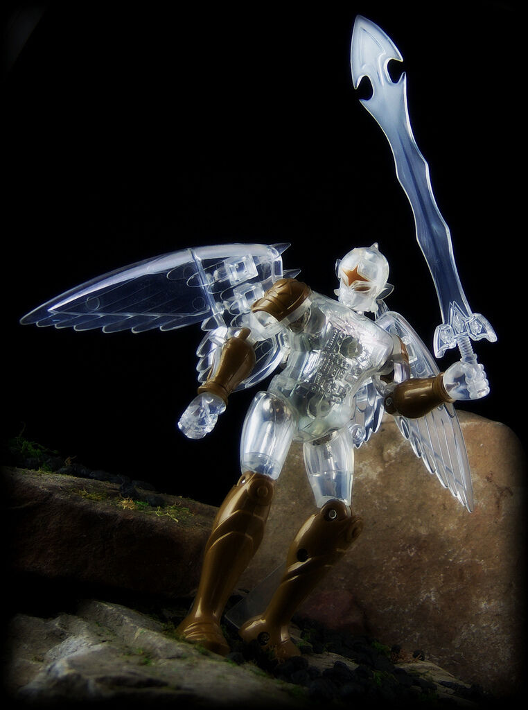 Takara Microman Micronauts Palisades Claro oro Rojo Falcon exclusivo menta en caja Rare