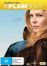 In Plain Sight : Season 2 (DVD, 2014, 3-Disc Set) New  Region 4