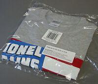 Lionel 1942 Catalog Cover Gray Adult T-shirt Train Accessory Flag 9fga658 Small