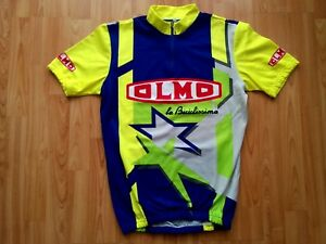 963a27e4c Image is loading Olmo-La-Biciclissima-Vintage-Short-Sleeve-Cycling-Jersey-