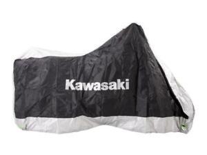 Kawasaki Telo coprimoto da esterno Nero/Grigio tg. M