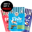 thumbnail 1 - Laughing-Dog-Grain-or-Wheat-Free-Dog-Treats-125g-Sleep-Tight-Fish-Cheesy