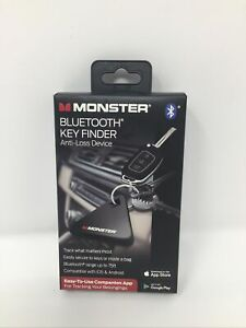 Monster Bluetooth Key Finder Anti Loss Device Brand New Factory Sealed