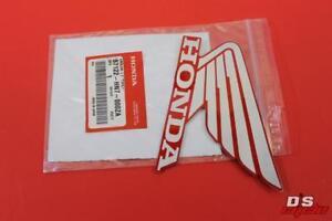 NOS Honda 2004-2007 TRX Left Type1 Emblem 87122-HN7-000ZA