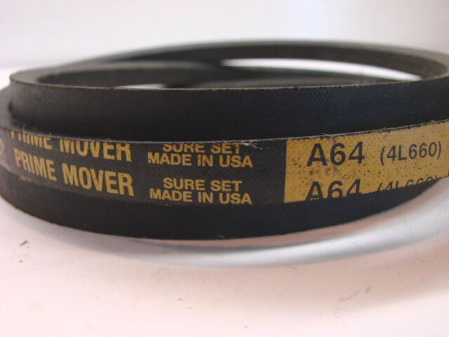 A64//4L660 V-Belt  1//2 X 66 SAME DAY SHIPPING FACTORY NEW!
