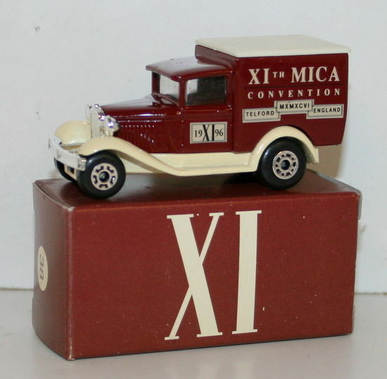 Matchbox 38 Model A Ford Van-XI The Eleventh UK MICA CONVENTION-April 1996