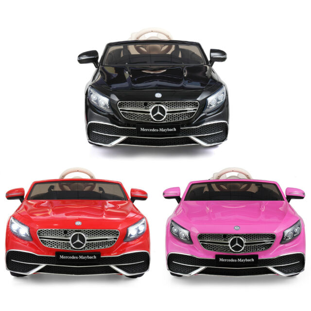 12V  kids Ride On Car Mercedes-Benz Licensed With radio/ Remote Control Toy Gift
