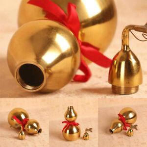 Golden-Brass-Chinese-Feng-Shui-Gourd-Wu-Lou-HuLu-Health-Enhance-Good-Luck