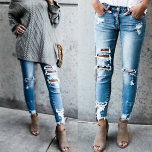 ddbfe9bc Details about KanCan KC5056 Light Wash Destroyed Skinny Jeans Distressed  Denim Women's Jeans