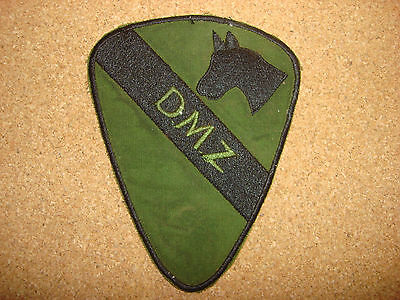 US 1st Cavalry Division DMZ Machine Embroidered Subdued Patch