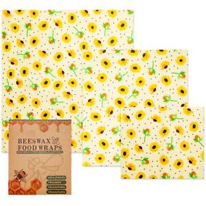 Lebensmitteln Wachspapier Wiederverwendbare Bienenwachstücher Bienenwachs Wrap