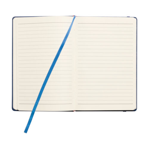 Premium Soft Feel A4 Ruled Lined Hardback Hard Back Notebook Notepad 96 Pages