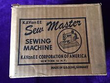 Vintage KAYanEE Sew Master Sewing Machine Mint Condition Made in Berlin Germany