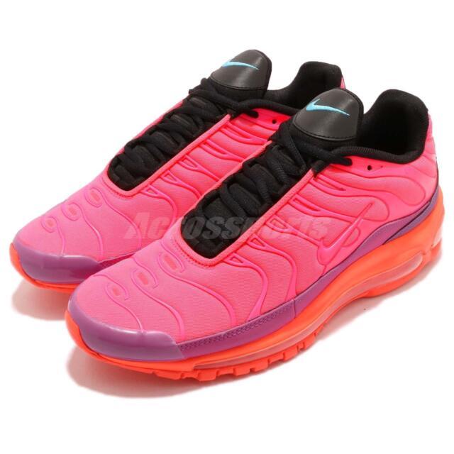 11beb19daf59 Nike Air Max 97 Plus Racer Pink Hyper Magenta Men Running Shoes AH8144-600