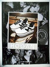 PUBLICITE-ADVERTISING :  HOGAN Soirée Automne-Hiver 15/16  2015 Chaussures