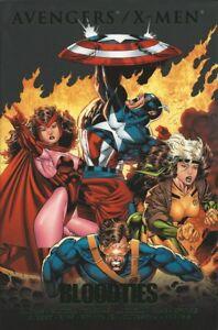 AVENGERS-X-MEN-BLOODTIES-Hardcover-HC-Marvel-Comics