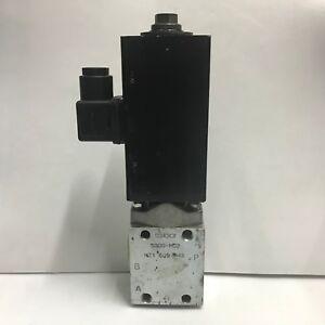 Hawe Hydraulik SG0G-MD2 Directional Control Valve 24VDC 45W
