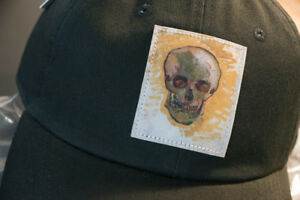 e36585c0c9ab45 Image is loading VANS-Hat-Model-VAN-GOGH-SKULL-BLACK-Size-