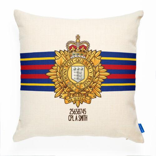 Royal Logistics Corps Funda De Cojín Regalo Personalizado RLC militar británica MC44