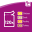 Whiskas-1-Adult-Wet-Cat-Food-Pouches-Mixed-Poultry-Jelly-120-x-100g-Pouches thumbnail 3