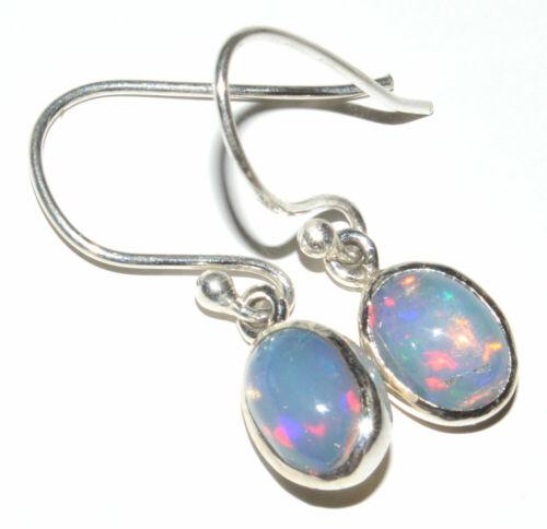Ethopian opal 925 Sterling Silver Boucles d/'oreilles Bijoux JB13687