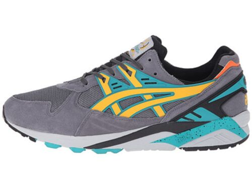 Grey//Gold Suede Lifestyle Shoes ASICS H502N.1159 GEL-KAYANO TRAINER Mn/'s M