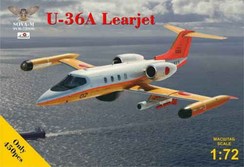 Japan Maritime Surveillance U-36A LEARJET SOVA-M PLASTIC KIT 1//72
