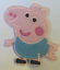 Pepper pig iron on patches