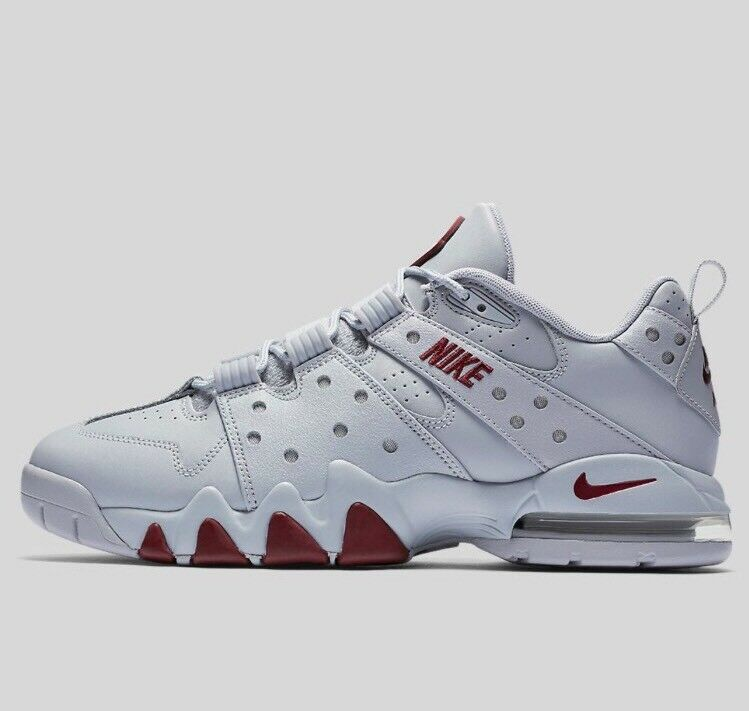Nike Air Max CB '94 Low Wolf Grey Team Red 917752-002 Charles Barkley Shoes 8.5