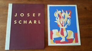 Josef-Scharl-1945-art-book-with-limited-signed-etching