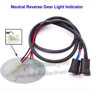 Neutral Reverse Light Gear Indicator For 50 110 125 150 200 250cc ATV Motor
