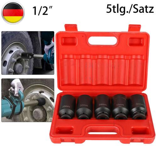 Schlagschrauber-Nüsse Vielzahn 1//2 Zoll  Antriebswelle 30 32 34 35 36 Mm 12-Kant